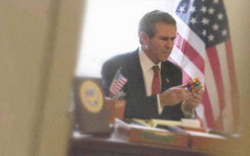 Буш мыслит!